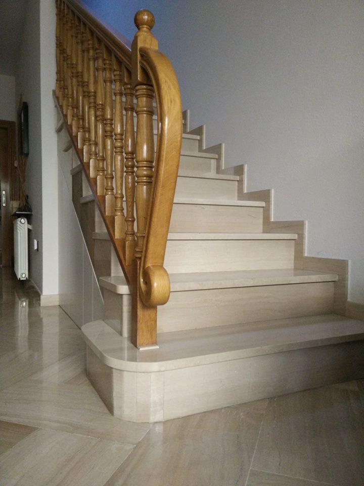 Escaleras de m rmol en el vall s m rmoles ros - Pavimentos de marmol ...